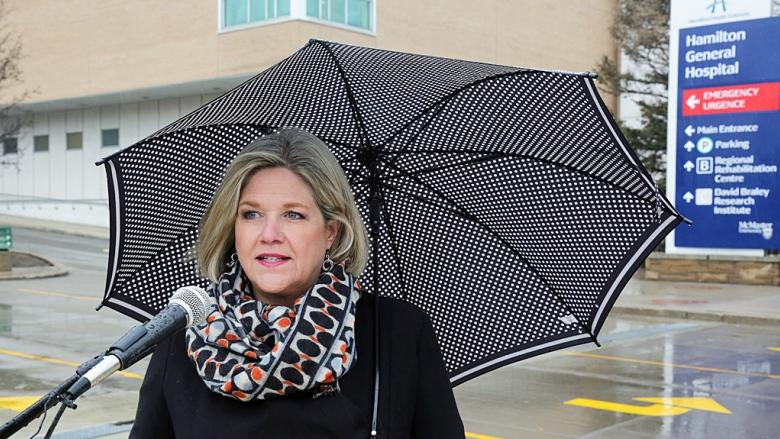 Horwath reserving judgment after damning allegations from NDP staffers