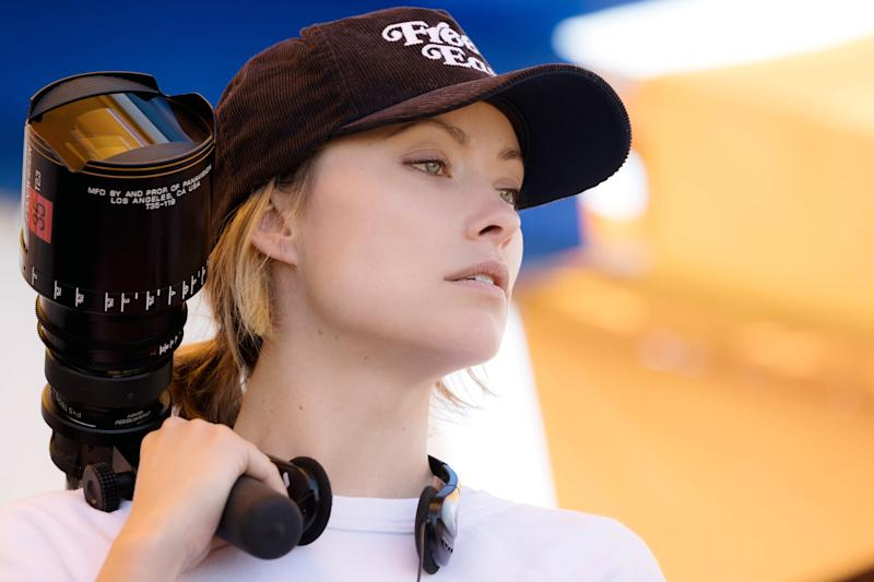 BOOKSMART, director Olivia Wilde, on-set, 2019. ph: Francois Duhamel / Annapurna Pictures / courtesy Everett Collection