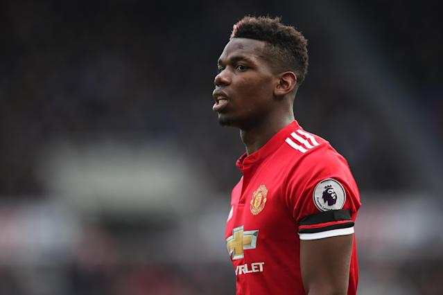 "<a class=""link rapid-noclick-resp"" href=""/soccer/players/paul-pogba/"" data-ylk=""slk:Paul Pogba"">Paul Pogba</a> had his worst game in a <a class=""link rapid-noclick-resp"" href=""/soccer/teams/manchester-united/"" data-ylk=""slk:Manchester United"">Manchester United</a> shirt in a 1-0 loss at Newcastle. (Getty)"