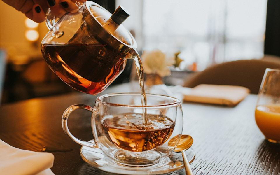Yet another reason to have a cup of tea – it's rich in flavonoids - Catherine Falls Commercial