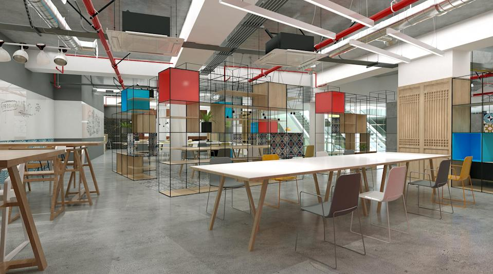 Main working space at MOX (Photo: MOX)
