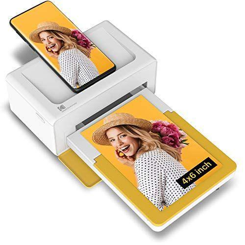 "<p><strong>Kodak</strong></p><p>amazon.com</p><p><strong>$130.00</strong></p><p><a href=""https://www.amazon.com/dp/B08FDCNBTF?tag=syn-yahoo-20&ascsubtag=%5Bartid%7C10056.g.4475%5Bsrc%7Cyahoo-us"" rel=""nofollow noopener"" target=""_blank"" data-ylk=""slk:Shop Now"" class=""link rapid-noclick-resp"">Shop Now</a></p><p>Compatible with both Android and iOS devices, this portable printing dock can print four-by-six photos directly from your phone. Your camera roll will thank you. </p>"