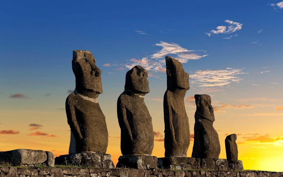 Easter Island Statues, Rapa Nui - Getty