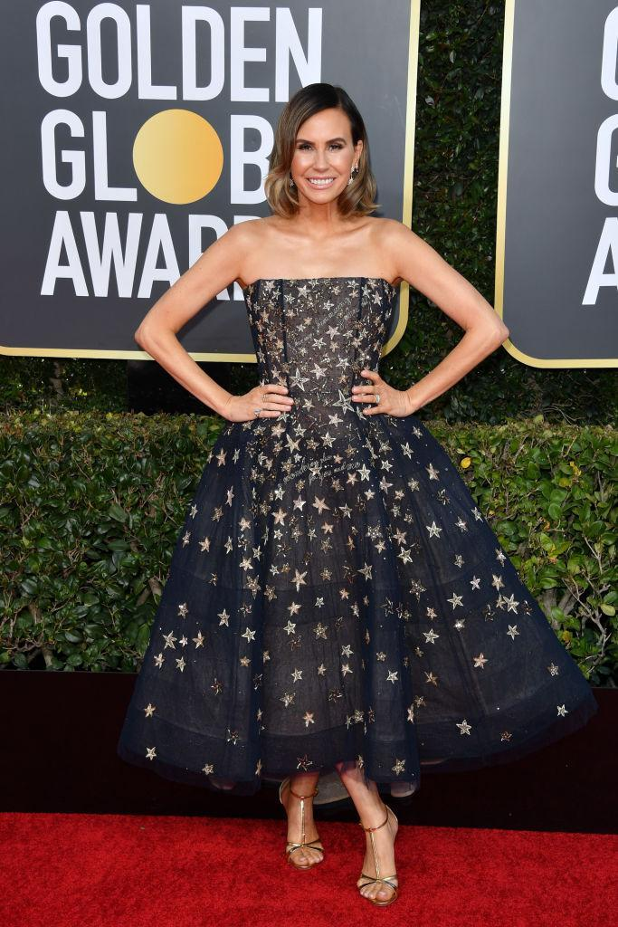 <p>Keltie Knight attends the 76th Annual Golden Globe Awards at the Beverly Hilton Hotel in Beverly Hills, Calif., on Jan. 6, 2019. (Photo: Getty Images) </p>