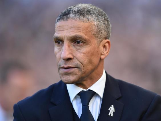 Chris Hughton is disappointed at Brighton's decision (Getty)