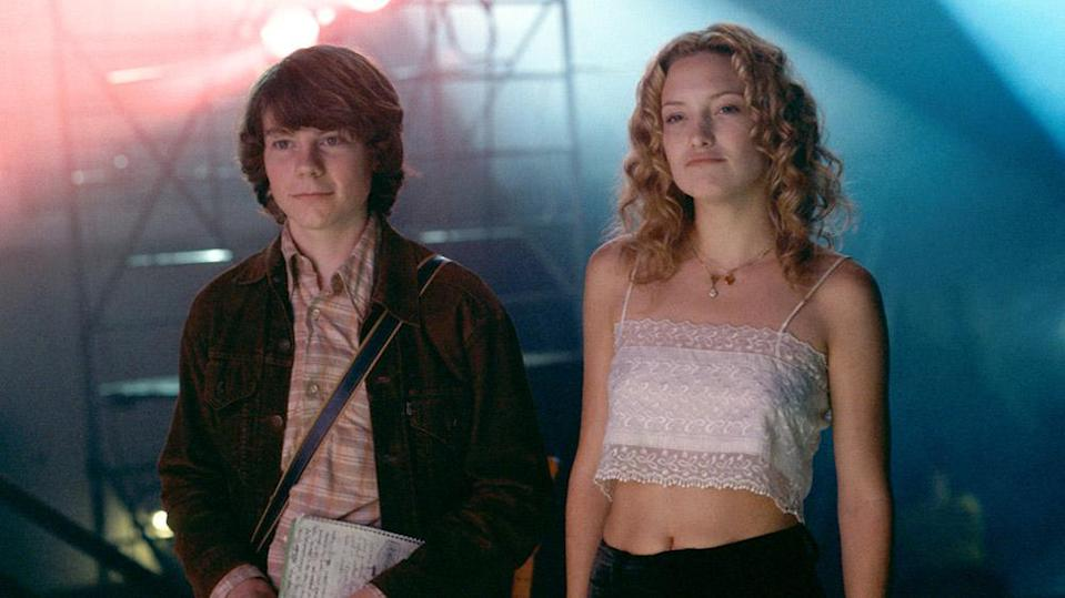 """Patrick Fugit and Kate Hudson in """"Almost Famous"""" - Credit: ©DreamWorks/courtesy Everett /"""