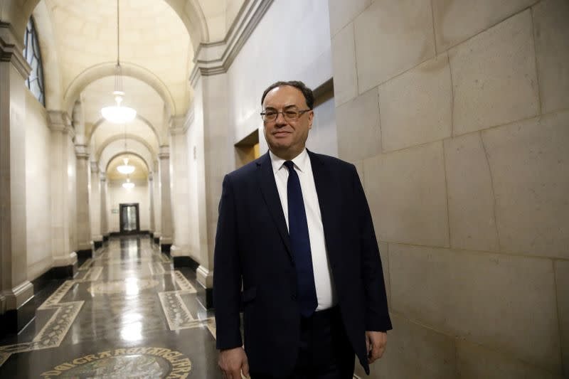 BoE's Bailey sees economy improving, but 'very worried' about jobs