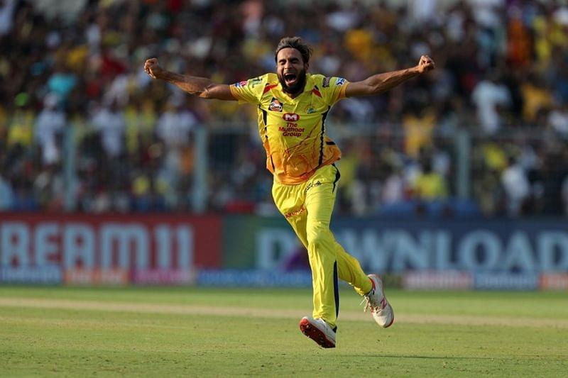Imran Tahir has to be the best player on the bench in IPL 2020