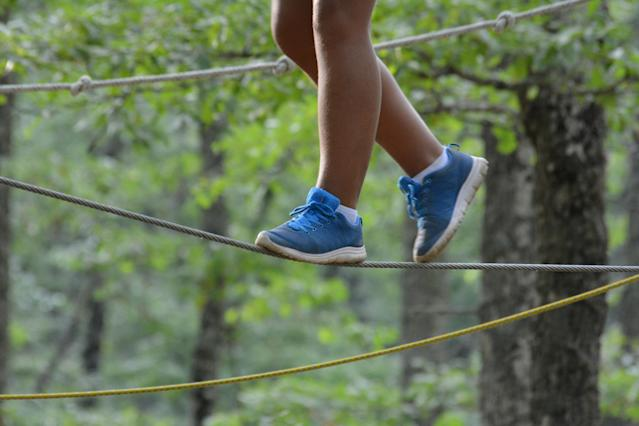 Camp Hope, a free weeklong camp for children exposed to domestic abuse and other trauma, offers therapy, outdoor adventures and crafts. In addition to helping kids heal, the program hopes to break the cycle of violence. (daniele russo/Getty Images)