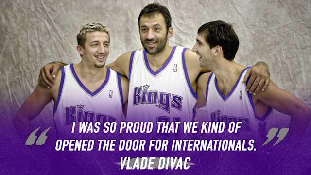 Vlade Divac pull quote on his international impact