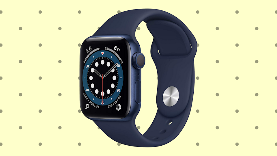 Watch your step...and your heartbeat and your local weather forecast and your GPS location and your text feed.... (Photo: Apple)