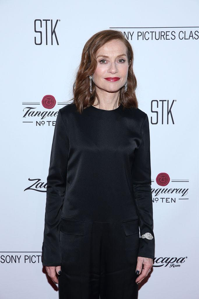 <p>Isabelle Huppert is her usual minimalist self in Nehera (Photo: Getty Images) </p>