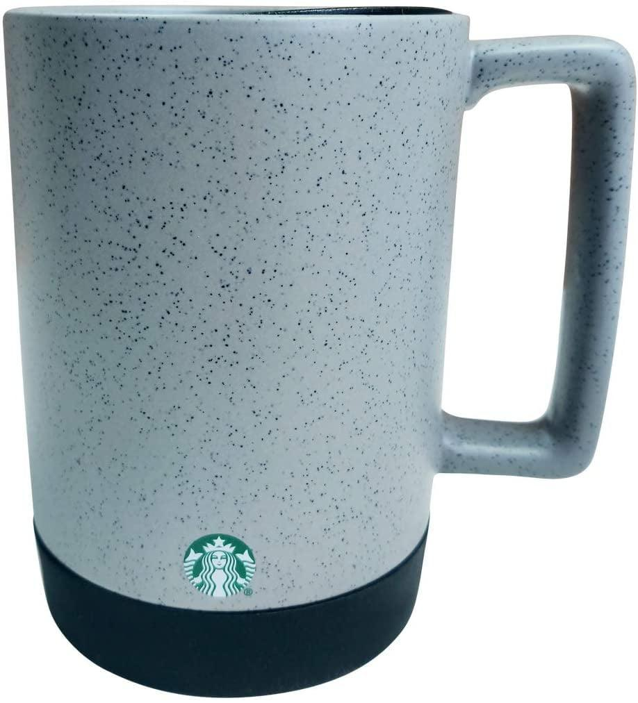 <p>The <span>Starbucks Grey/Black Speckled Ceramic Desktop Mug Silicone Nonslip Bottom with press-in Lid</span> ($29) will be your work from home best friend.</p>