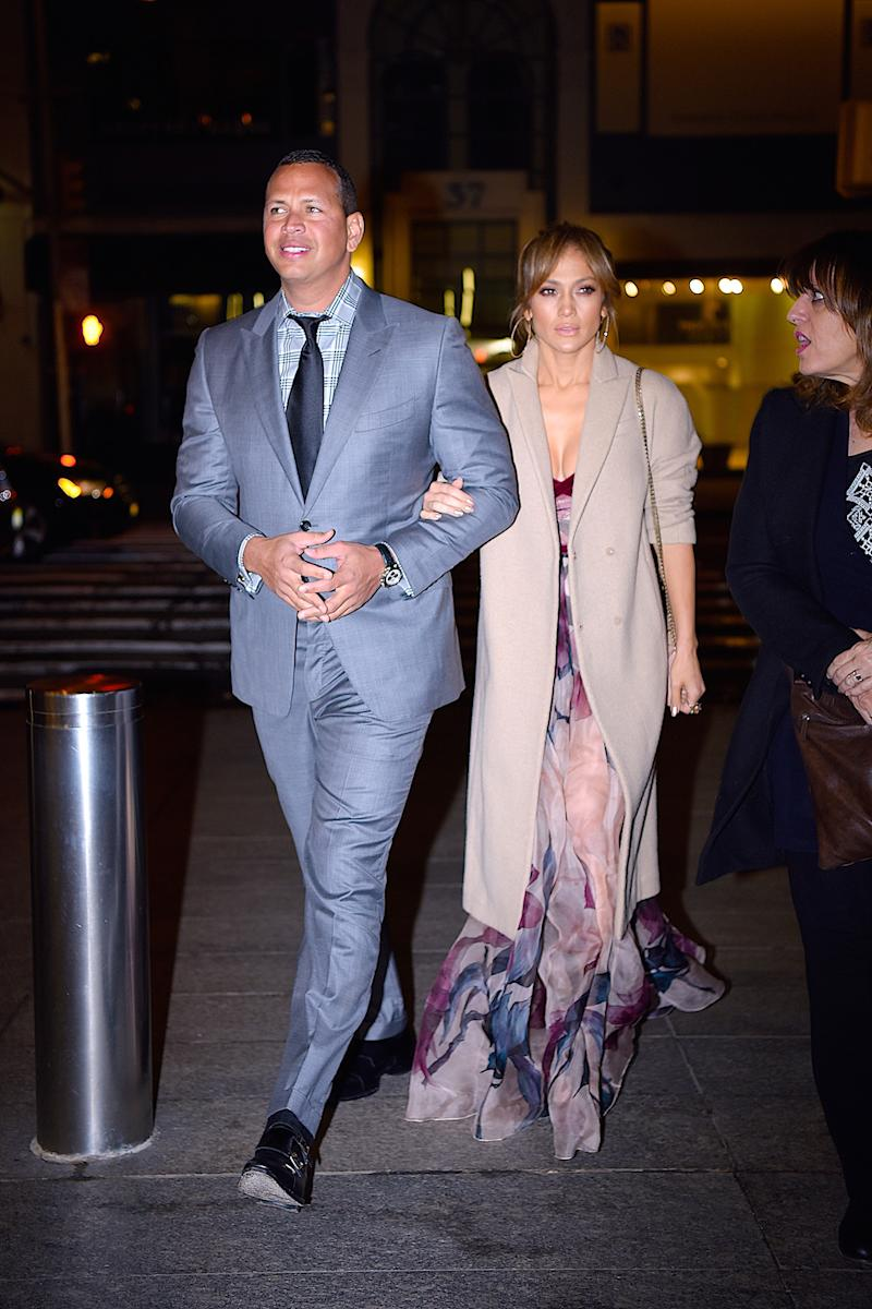 J'lo Stuns For Date Night With A-Rod