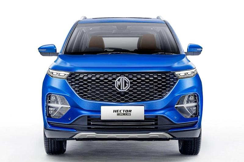 MG Hector Plus front profile. (Photo: MG Motor India)
