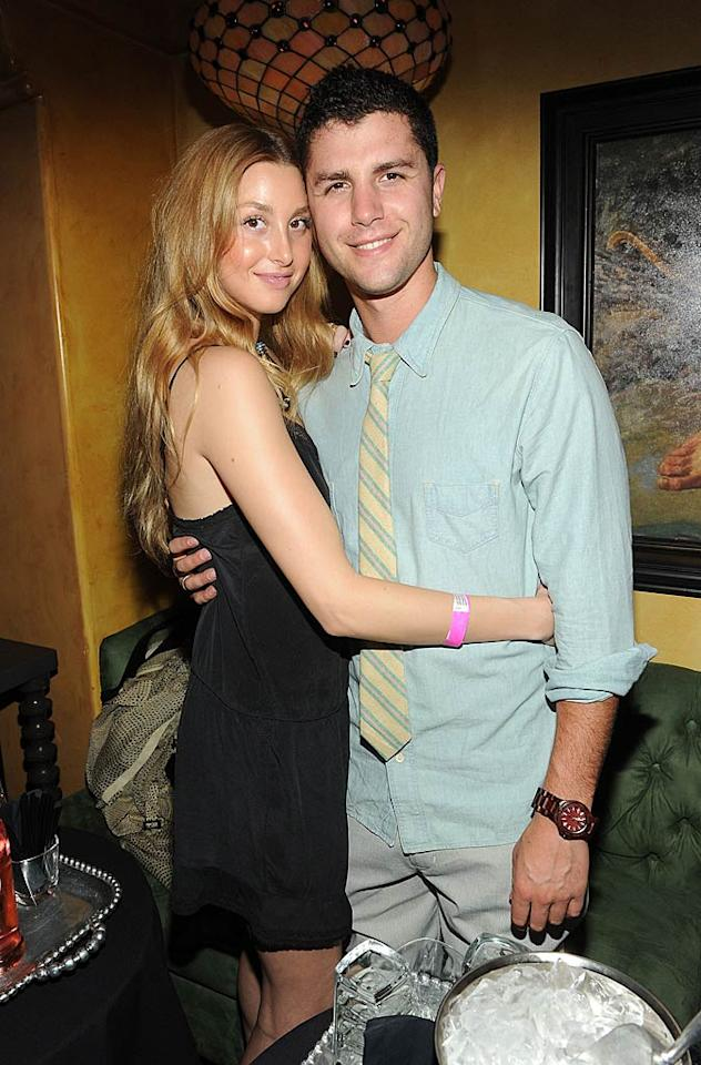 "It's a match made in MTV heaven! Reality TV couple Whitney Port and Ben Nemtin had no qualms about cuddling in front of the camera. Michael Buckner/<a href=""http://www.gettyimages.com/"" target=""new"">GettyImages.com</a> - May 4 2011"