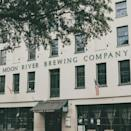 """<p>Savannah is known for being full of history and spirits, and <a href=""""https://moonriverbrewing.com/about-us/the-ghosts/"""" rel=""""nofollow noopener"""" target=""""_blank"""" data-ylk=""""slk:Moon River Brewing Company"""" class=""""link rapid-noclick-resp"""">Moon River Brewing Company</a> is one of the most haunted spots in the city. Today, it's a bar and restaurant, but back in 1821 it was a hotel and then a hospital for victims of the Civil War. There are lots of scary stories about bad energy there, and many guests have said that they've seen a woman in period clothing on the staircase. Moon River is now a regular spot for ghost tours.<br></p><p><em>Photo Credit: Facebook/<a href=""""https://www.facebook.com/MoonRiverBrewing/photos/a.97702268150/10157634836183151/?type=3&theater"""" rel=""""nofollow noopener"""" target=""""_blank"""" data-ylk=""""slk:Moon River Brewing Company"""" class=""""link rapid-noclick-resp"""">Moon River Brewing Company</a></em></p>"""