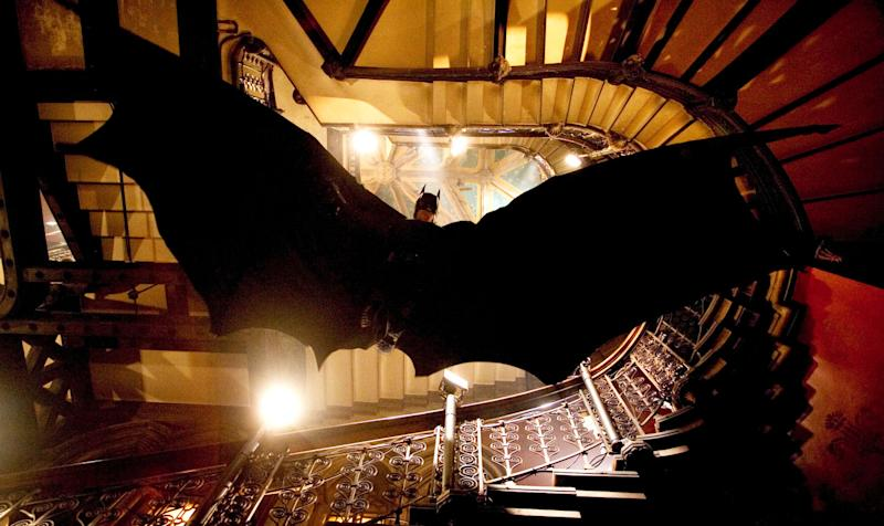 Christian Bale as Batman in 'Batman Begins' (Photo: Warner Brothers/courtesy Everett Collection)