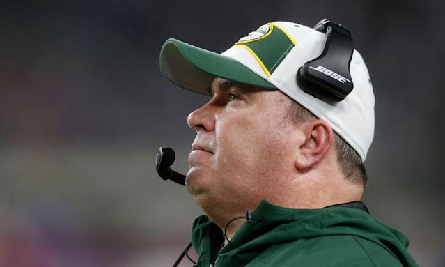 Mike McCarthy will take a year off from coaching after being fired by the Packers. (AP)