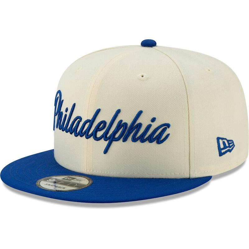 76ers 2019/20 City Edition Snapback Hat