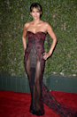 <p>Halle Berry turned up the heat at the 2018 NAACP Image Awards in this revealing Reem Acra gown.</p>