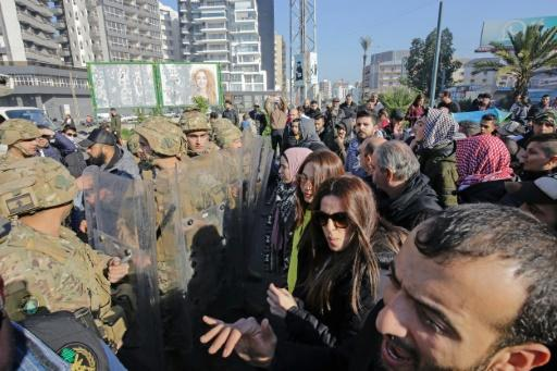 Although protests have declined in size, demonstrations have been ongoing since October, not just in Beirut but also here in Lebanon's second city Tripoli