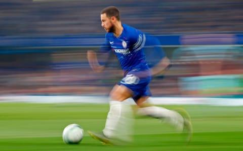 <span>Eden Hazard's move to Real Madrid is by far the most high-profile Premier League departure this summer</span> <span>Credit: AFP </span>