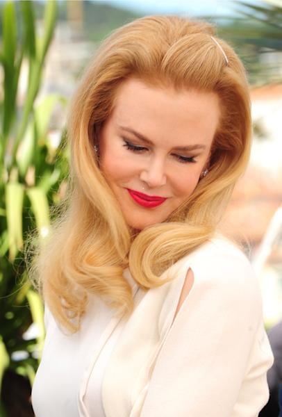 Actress Nicole Kidman poses for photographers during a photo call for the film Grace of Monaco at the 67th international film festival, Cannes, southern France, Wednesday, May 14, 2014. (Photo by Arthur Mola/Invision/AP)
