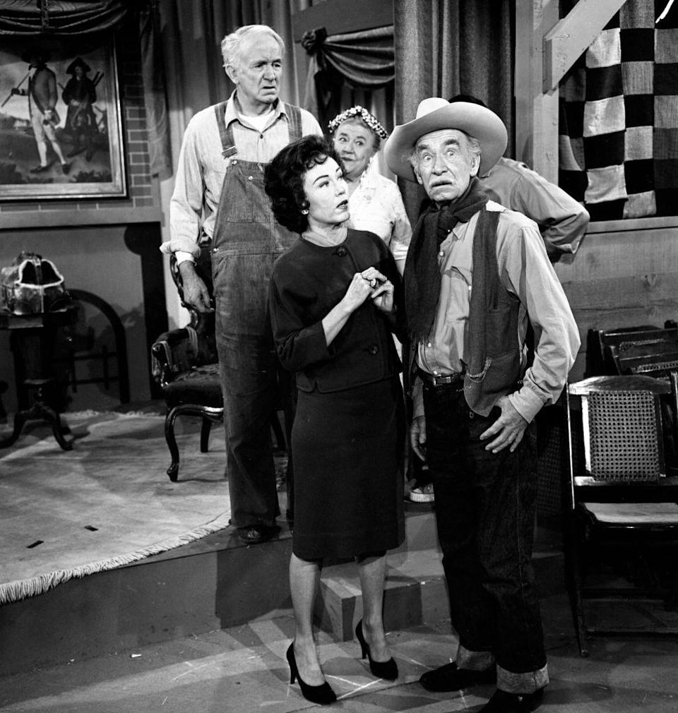 <p><strong><em>The Real McCoys</em> <br></strong><br>Had to go back to the '50s to find a show set in West Virginia that people watched. Even then, this retro sitcom featured a family moving OUT of the state to head to California.<br></p>