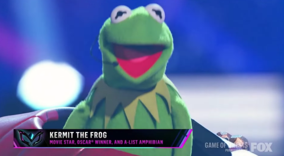 Kermit the Frog Masked Singer US