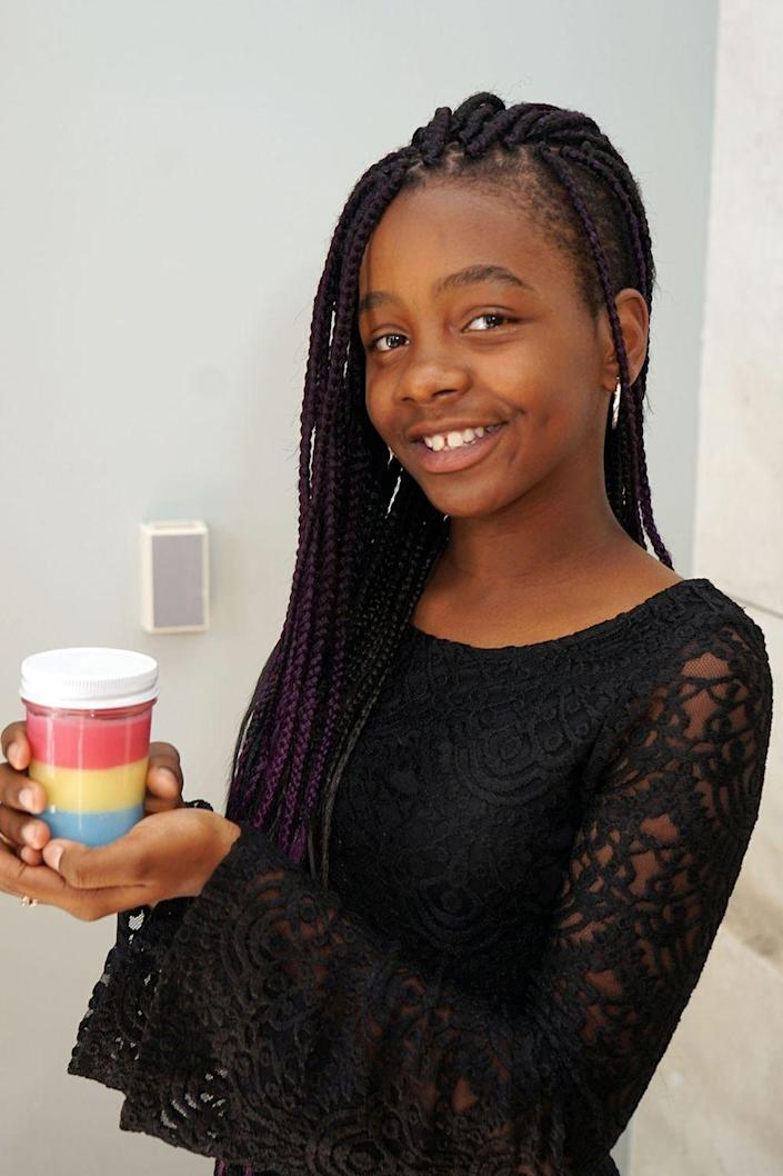 <p>Self-proclaimed Super Business Girl, Newson, who has a successful candle business, encourages kids in her Detroit community to become entrepreneurial, too. She has several young employees and hopes to bring in mentees so she can help them hone their business skills. Her accomplishments have caught the attention of Ellen DeGeneres and Quicken Loans founder Dan Gilbert, who offered her some of his own business advice.</p>