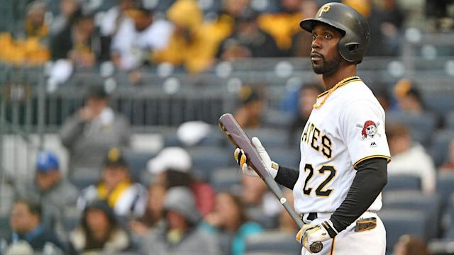 Former NL MVP Andrew McCutchen is headed to the Giants, but it may not be enough to match the Dodgers. (AP)