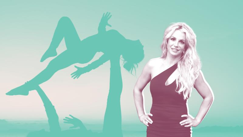 Britney Spears Posted a Video Doing Yoga in a String Bikini—and Her Routine Looks Intense