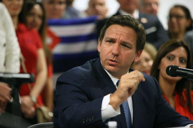 Florida Gov. Ron DeSantis (R) has come out against mask mandates and other coronavirus protections, despite the increasingly high number of COVID-19 cases and hospitalizations in his state. (Photo: Joe Raedle via Getty Images)