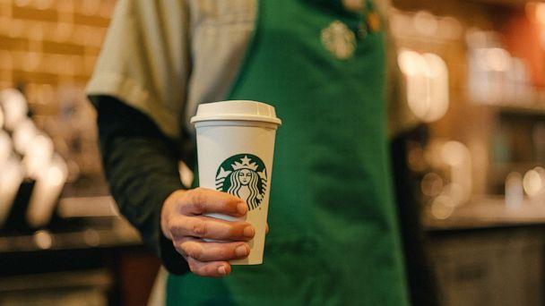 PHOTO: A reusable cup from Starbucks as part of the coffee company's commitment to sustainability. (Starbucks)