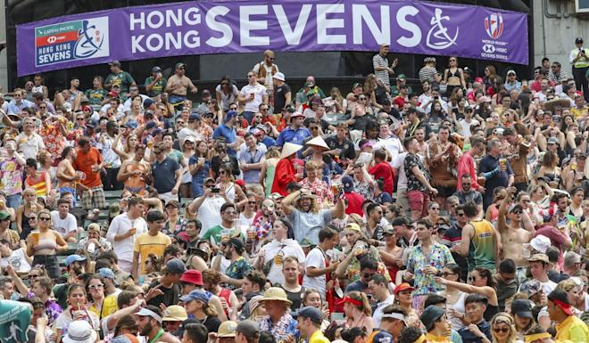 Organisers of the Hong Kong Sevens are said to be 'positive' about the international event running as planned next April. Photo: K.Y. Cheng
