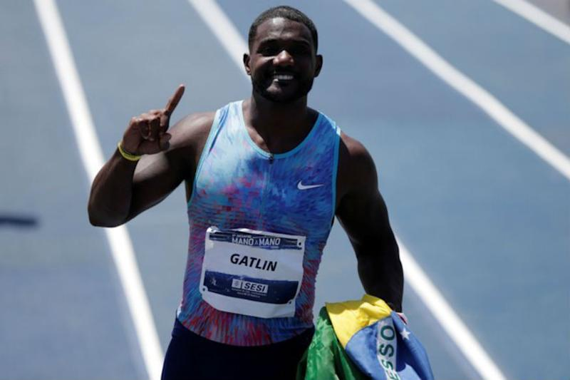Jet-lagged Justin Gatlin Flops in Fourth on Maiden South Africa Visit