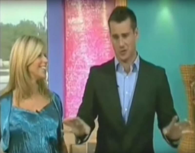 We've not heard or seen anything from former 'Blue Peter' presenter Tim in yeaaars, but he did guest host the show with Kate Garraway in 2005.