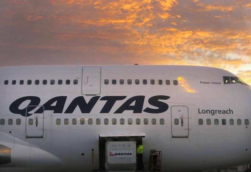 Before United's new flight, Qantas' service to Sydney was the longest US-Australia flight in the world (REUTERS)