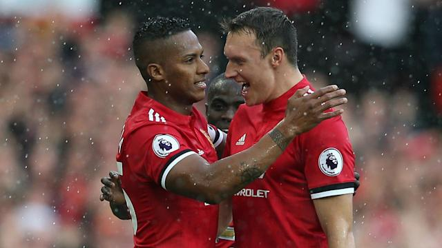 Manchester United triumphed to a 4-0 victory over Everton at Old Trafford