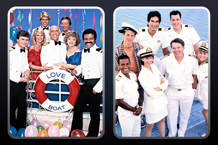 """<a href=""/love-boat-the-next-wave/show/31845"">Love Boat: The Next Wave</a>"" (UPN, 1998-99): ""Exciting and new""? Maybe not. But UPN thought the campy 1977-86 nautical romance was ripe for another voyage. (Hoping to ride the ""Titanic"" wave, perhaps?) TV veteran Robert Urich helmed the ship as Captain Jim Kennedy, welcoming aboard such luminaries as Jerry Springer (!), ALF (!!), and a young Jessica Alba. ""Next Wave"" even hosted a reunion of the original ""<a href=""/love-boat/show/31844"">Love Boat</a>"" crew, but, alas, even that wasn't enough to keep the show afloat: It drifted out to sea after just two seasons."