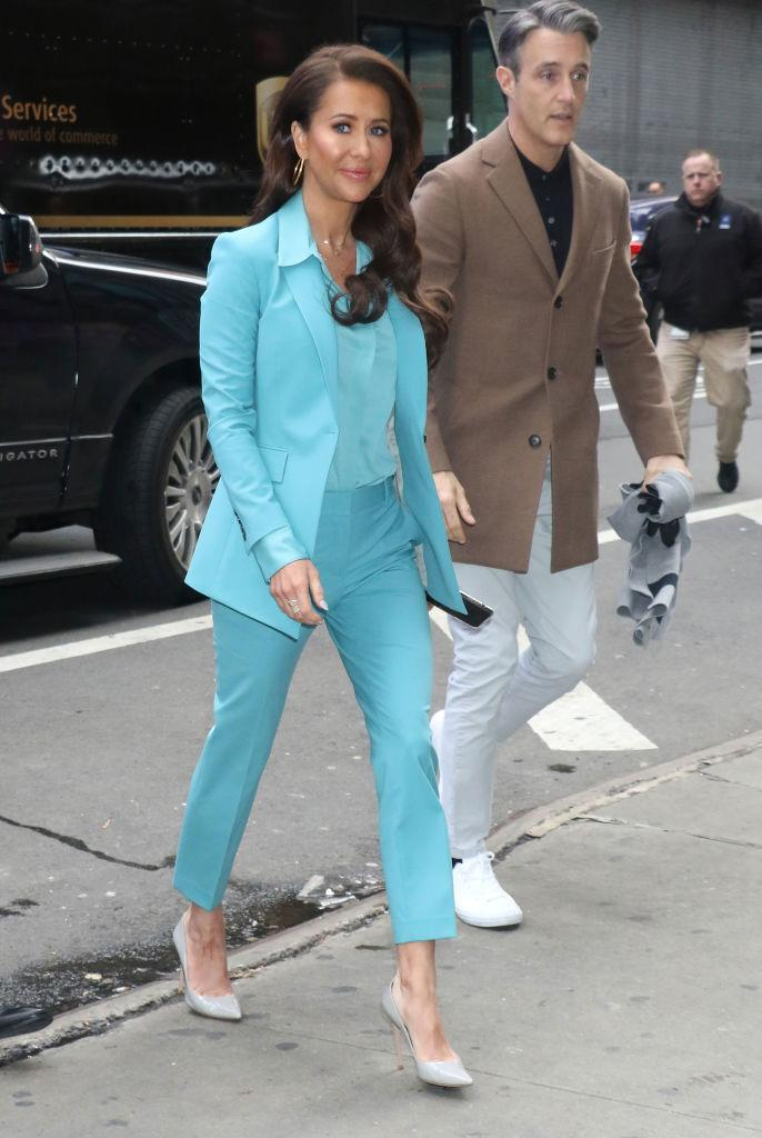Jessica Mulroney and husband Ben. (Image via Getty Images)