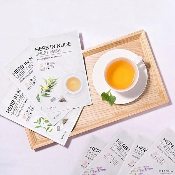 During Missha's Sheet Mask Cafe sale, shoppers can nab Korean beauty sheet masks for a little as $1.