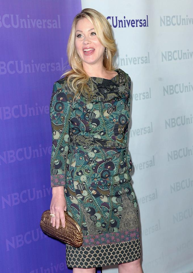 "Emmy-winning actress Christina Applegate was diagnosed with the disease when she was 36. Applegate, now 40, is cancer-free after undergoing a double mastectomy and has launched her own foundation   dedicated to the cause called <a href=""http://www.rightactionforwomen.org"" target=""new"">Right Action for Women</a>. The ""Up All Night"" actress, has said that her secret to getting through the   tough times was laughing - a lot. ""I have to or else I'll just cry all the time,"" she told <i>Us Weekly</i>. ""Laughter is so healing ... I think that it frees up your body to heal, too. Humor has always   gotten me through the toughest of times."" (1/6/2012)"