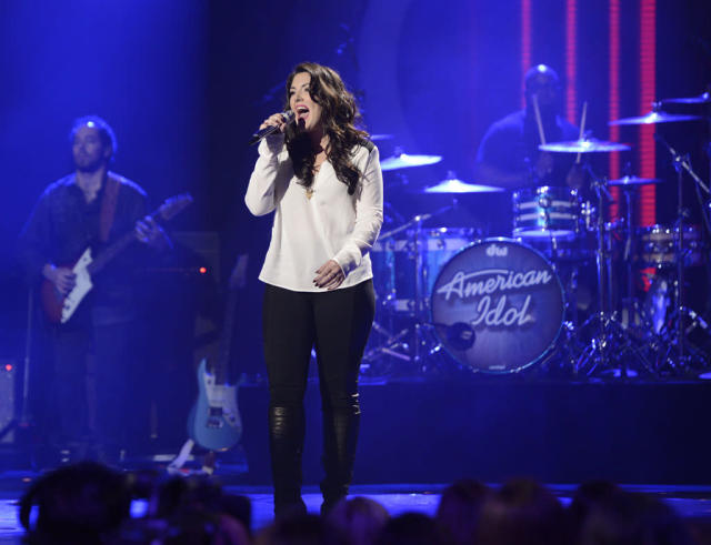 "Kree Harrison performs Janis Joplin's ""Piece of My Heart"" on the Wednesday, April 3 episode of ""American Idol."""