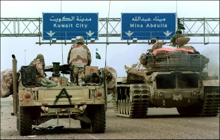 The US presence in Saudi Arabia lasted 12 years, starting with Operation Desert Storm in 1991 (pictured)