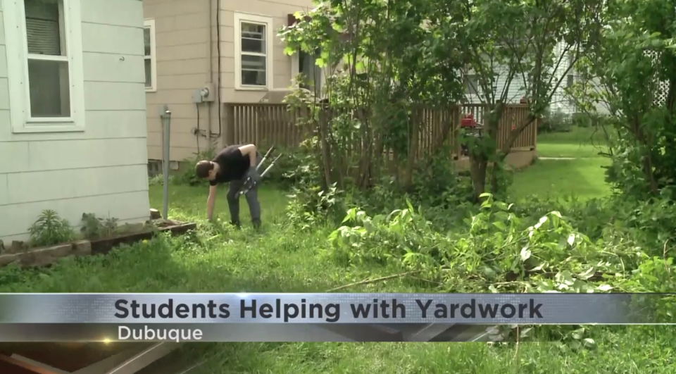 Iowa students could volunteer to help the elderly or people with disabilities with their yard work to receive PE credits. (Photo: KWWL)