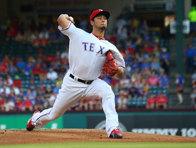Yu Darvish is a two- or three-month rental for the Los Angeles Dodgers. (Getty Images)