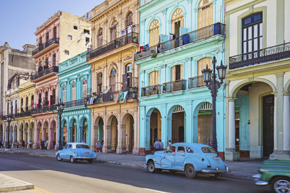 <p>Havana, Cuba's soulful capital, will celebrate its 500th birthday in November – so now's the time to go to enjoy films, jazz, Cuban cocktails and lashings of history. There are lots of concerts and exhibitions slated for this year, and the annual carnival in August promises to be livelier than ever. The city will also celebrate by opening a plethora of new hotels, several of which are restored colonial buildings in the old town. <em>[Photo: Getty]</em> </p>
