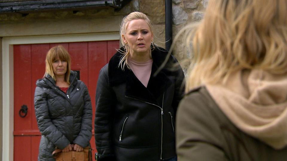 <p>She reveals that Johnny has gone to stay with Vanessa, then drops another bombshell that leaves Charity reeling.</p>